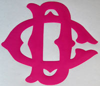 DC Vintage Sticker-Sticker Blimp Decals