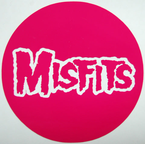 Misfits Round Sticker-Sticker Blimp Decals