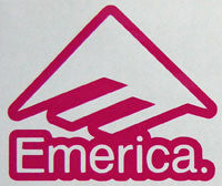 Emerica Bold Sticker-Sticker Blimp Decals