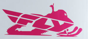 Fly Racing Snowmobile Sticker-Sticker Blimp Decals