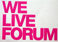 Forum We Live Sticker-Sticker Blimp Decals