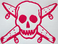 Four Star Neon Pirates Sticker-Sticker Blimp Decals