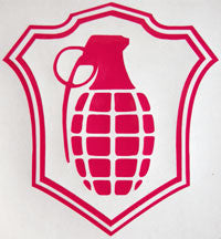 Grenade Shield Sticker-Sticker Blimp Decals