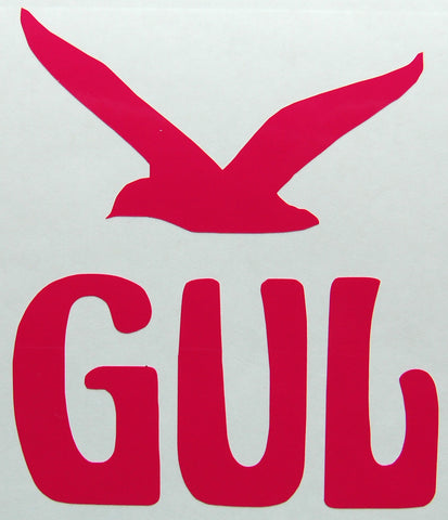 Gul Retro Sticker-Sticker Blimp Decals