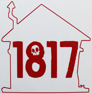 House Of 1817 Outline Sticker-Sticker Blimp Decals