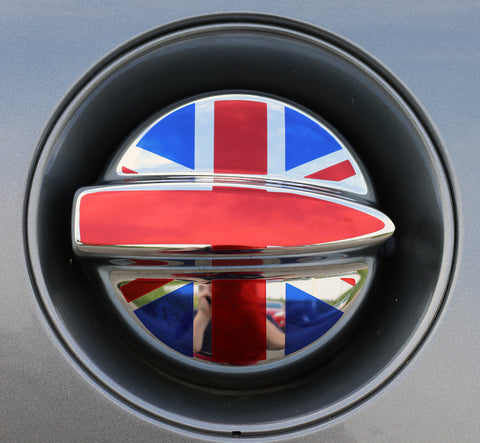 Gen 1 R53 Union Jack Fuel Filler Sticker-Sticker Blimp Decals