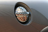 Gen 1 R53 Chequered Flag Fuel Filler Sticker-Sticker Blimp Decals