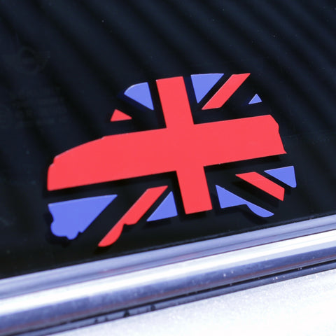Union Jack Cutout Sticker-Sticker Blimp Decals