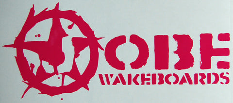 Jobe wakeboards Sticker-Sticker Blimp Decals