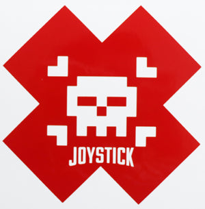 Joystick Cross Sticker-Sticker Blimp Decals