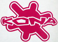 Kona Splat Retro Sticker-Sticker Blimp Decals
