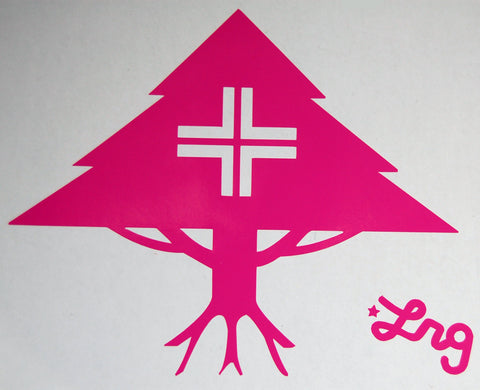 LRG Tree Sticker-Sticker Blimp Decals