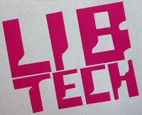 Lib Tech Retro Sticker-Sticker Blimp Decals
