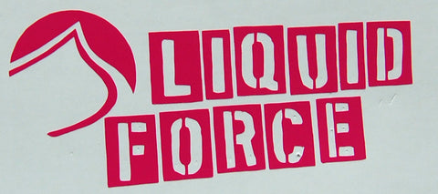 Liquid Force Stencil Sticker-Sticker Blimp Decals