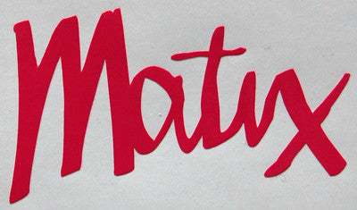 Matix Text Scruffy Sticker-Sticker Blimp Decals