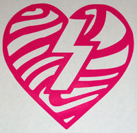 Mystery Heart Swirl Sticker-Sticker Blimp Decals