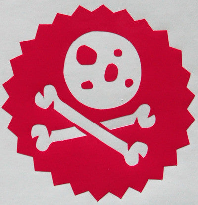 Neff Cookie Crossbones Sticker-Sticker Blimp Decals