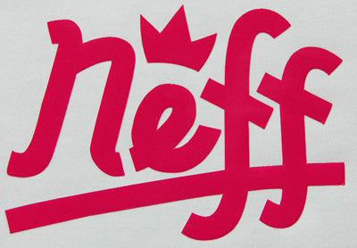 Neff Crown Sticker-Sticker Blimp Decals