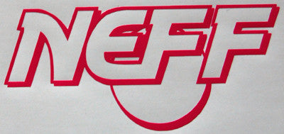 Neff Retro Sticker-Sticker Blimp Decals