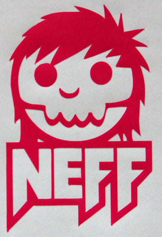Neff Skull Inner Sticker-Sticker Blimp Decals