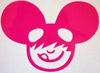 Neffmau5 Head Sticker-Sticker Blimp Decals