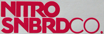 Nitro SNBRDCO Sticker-Sticker Blimp Decals