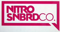 Nitro SNBRDCO Speech Sticker-Sticker Blimp Decals
