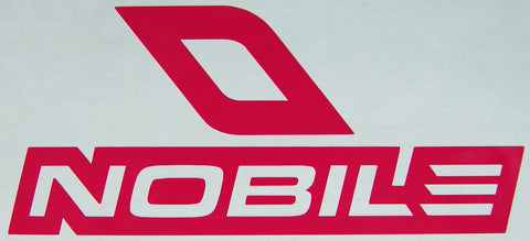 Nobile Kitesurfing Slanted Bold Sticker-Sticker Blimp Decals