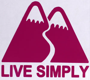 Patagonia Live Simply Sticker-Sticker Blimp Decals