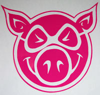 Pig Wheels Sticker-Sticker Blimp Decals