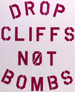 Planks Clothing Drop Cliffs Sticker-Sticker Blimp Decals
