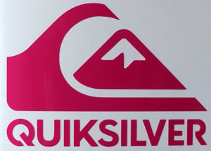 Quiksilver Stacked Sticker-Sticker Blimp Decals