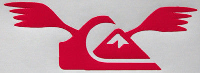 Quiksilver Wings Sticker-Sticker Blimp Decals
