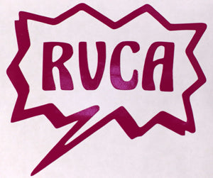 RVCA Speech Bubble Sticker-Sticker Blimp Decals