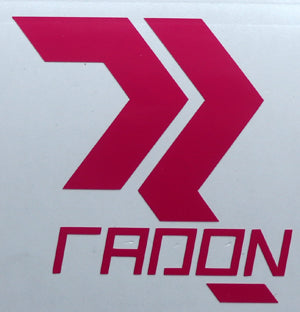 Radon Bikes Full Sticker-Sticker Blimp Decals