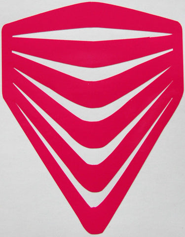 Red Helmets Sticker-Sticker Blimp Decals