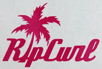 Rip Curl Aloha Text Sticker-Sticker Blimp Decals