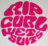 Rip Curl Retro Sticker-Sticker Blimp Decals