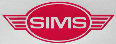 Sims Wings Sticker-Sticker Blimp Decals