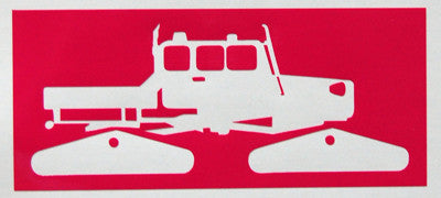 Spacecraft Square Sticker-Sticker Blimp Decals