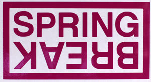 Spring Break Boxed Sticker-Sticker Blimp Decals