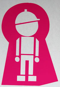 Stepchild Keyhole Sticker-Sticker Blimp Decals