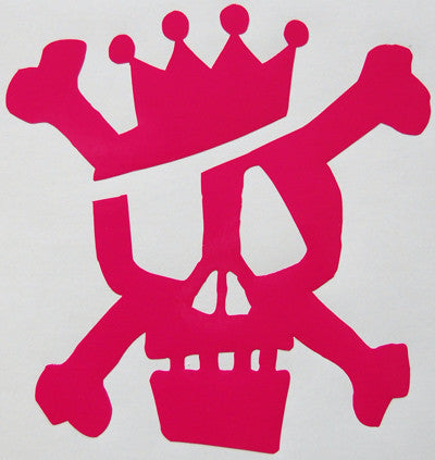 Stussy Skull Crown Sticker-Sticker Blimp Decals
