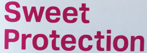 Sweet Protection Fresh Text Sticker-Sticker Blimp Decals