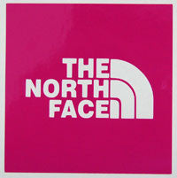 The North Face Square Sticker-Sticker Blimp Decals