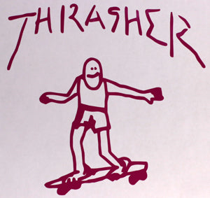 Thrasher Gonzo Sticker-Sticker Blimp Decals