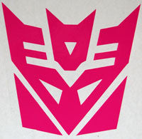 Transformers Decepticon Sticker-Sticker Blimp Decals