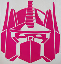 Transformers Optimus Prime Sticker-Sticker Blimp Decals