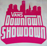 Vans Downtown Showdown Sticker-Sticker Blimp Decals