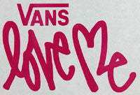 Vans Love Me Sticker-Sticker Blimp Decals